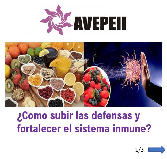 Te contamos como fortalecer tu sistema inmunológico!